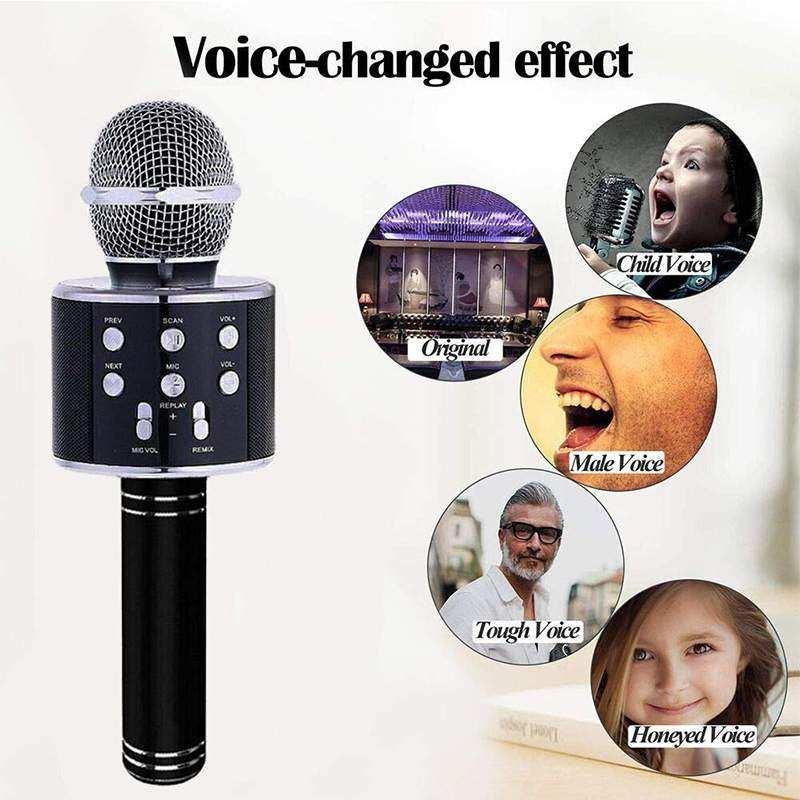 Concord Türkçe Yüksek Kalite Karaoke Mikrofon Hoparlör (C-8500)