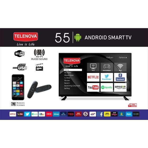 Telenova 55S8001 55 (139cm) FullHD Smart LED TV (Air Mouse & Klavye)