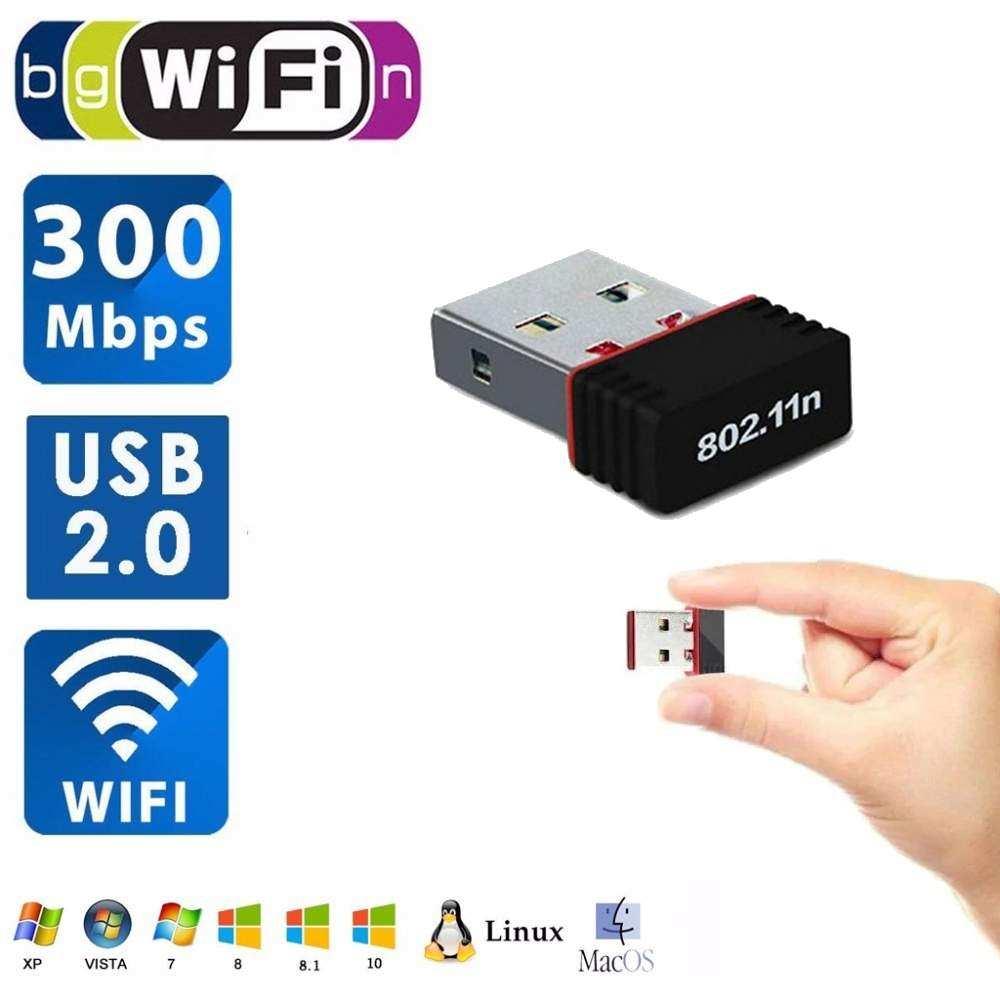 Realtek RTL 8188FV Usb Wifi (Usb Wireless) 300Mbps Mini 802.11n