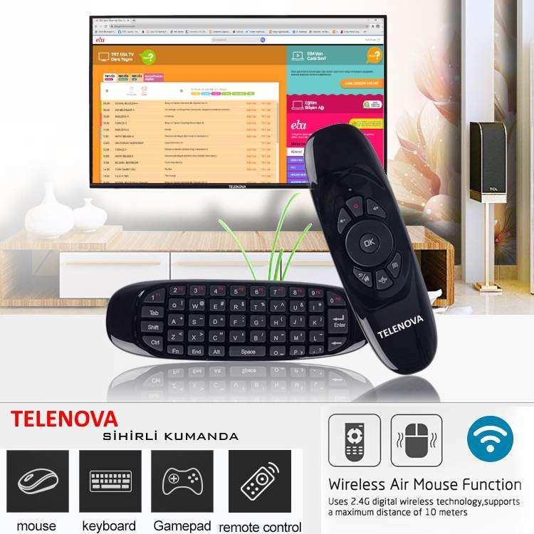 Telenova  42NSK8001  42 (106 Ekran) Dahili Uydu Alıcılı Android 9.0 Smart TV