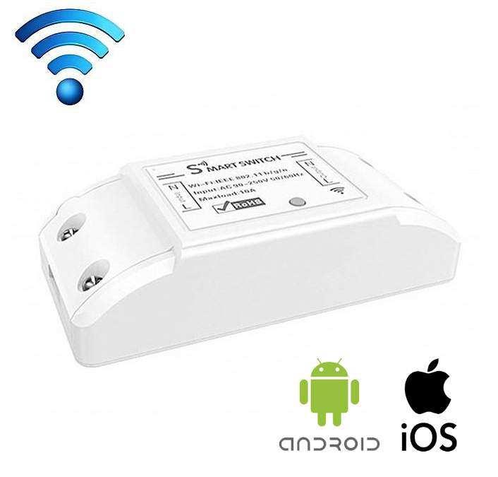 Google Home Uyumlu Smart Life SM10A Wifi Akıllı Ev Anahtarı