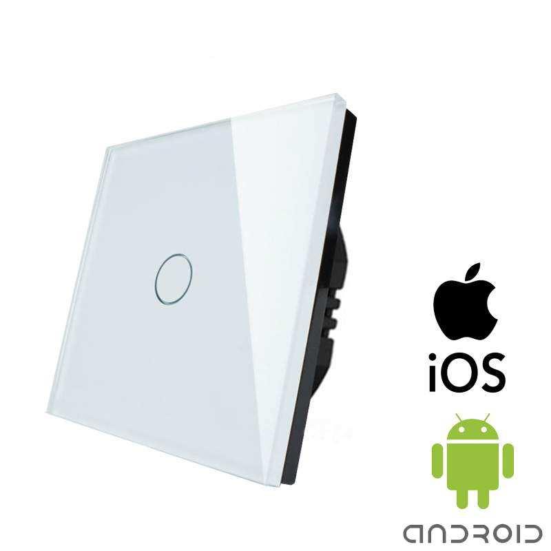 Tigoes SS86-01 Akıllı Priz Wifi Smart Touch Switch (Tekli Lamba Anahtarı)