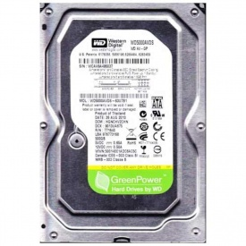 Western Digital AV-GP WD5000AVDS 500 GB HDD