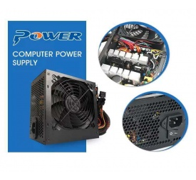 Concord C-875 Bilgisayar Kasası İçin Power Supply 300W Fanlı 12 cm Siyah