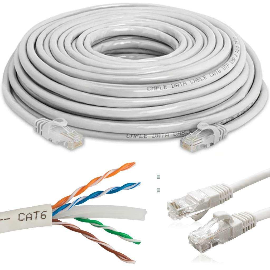 20 Metre Cat6 Ethernet Internet Kablosu Concord C-567 RJ45 Uç