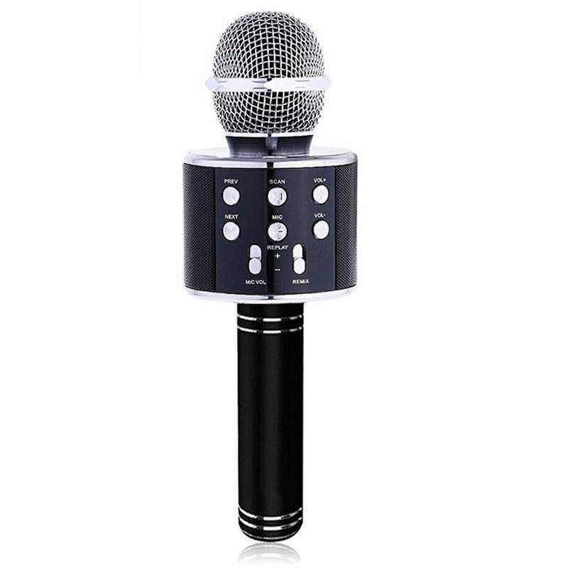 Concord Türkçe Yüksek Kalite Karaoke Mikrofon Hoparlör (C-8500) - Siyah