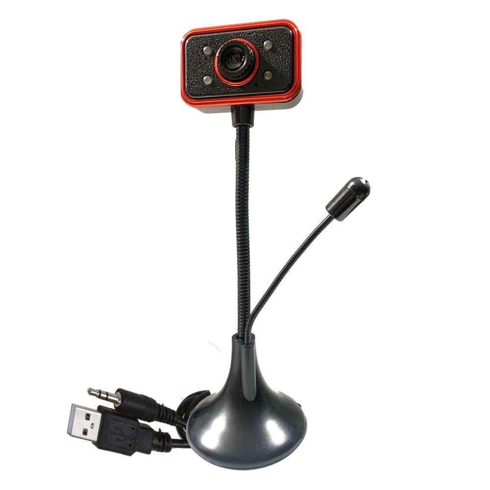 Concord C-623 480p USB Mikrofonlu Tak Çalıştır Ayaklı Webcam