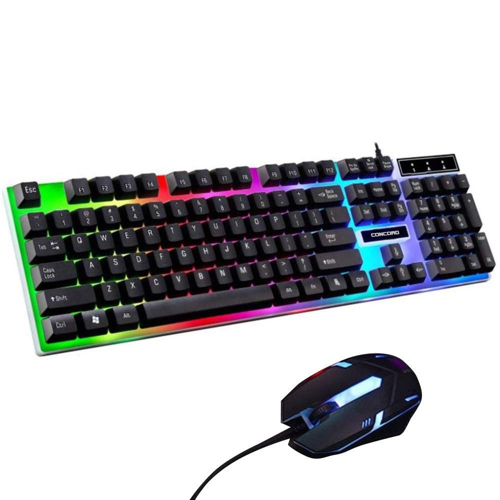 Concord Kablosuz Oyuncu Türkçe Q Klavye & Mouse Seti (C-56)