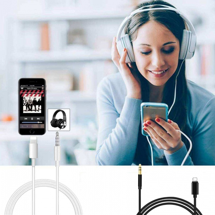 iPhone Lightning to Aux Çevirici Kablo  Model JH-023