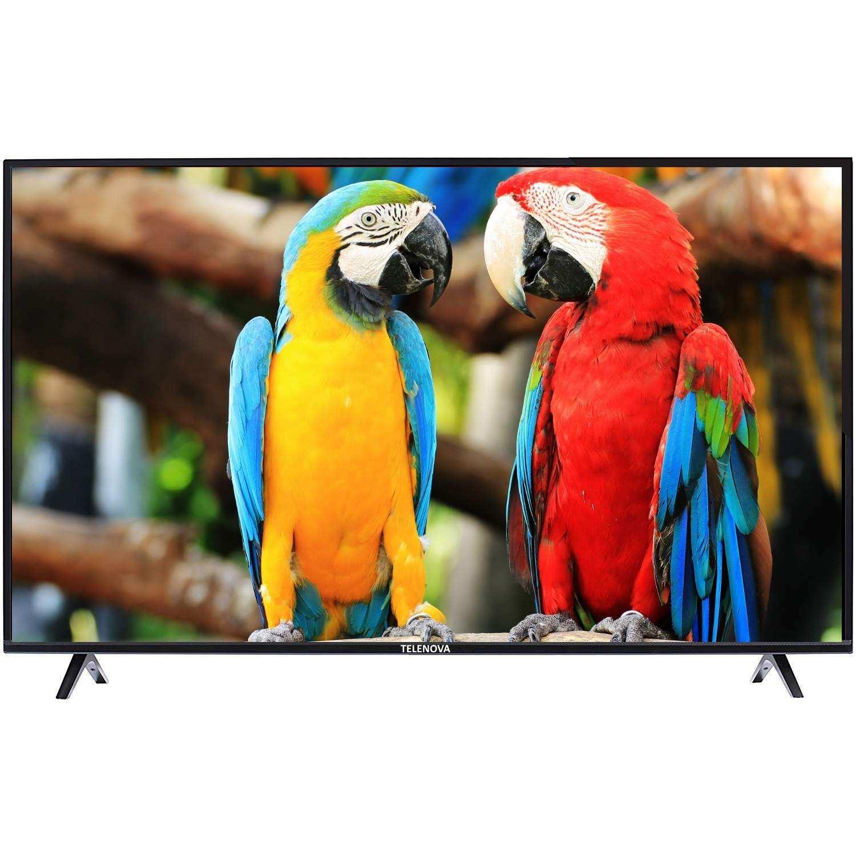 Telenova 65S8001 65 165 Ekran 4K Android Smart TV Dahili Uydu Alıcılı LED Tv + Air Mouse Hediye