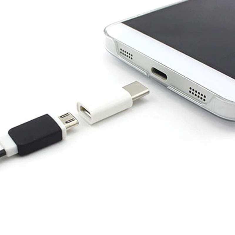 Çevirici C870 TYPE-C to Micro USB (Micro USB Dişiİ to TYPE-C Erkek) OTG DönüştürücücüÇevirici