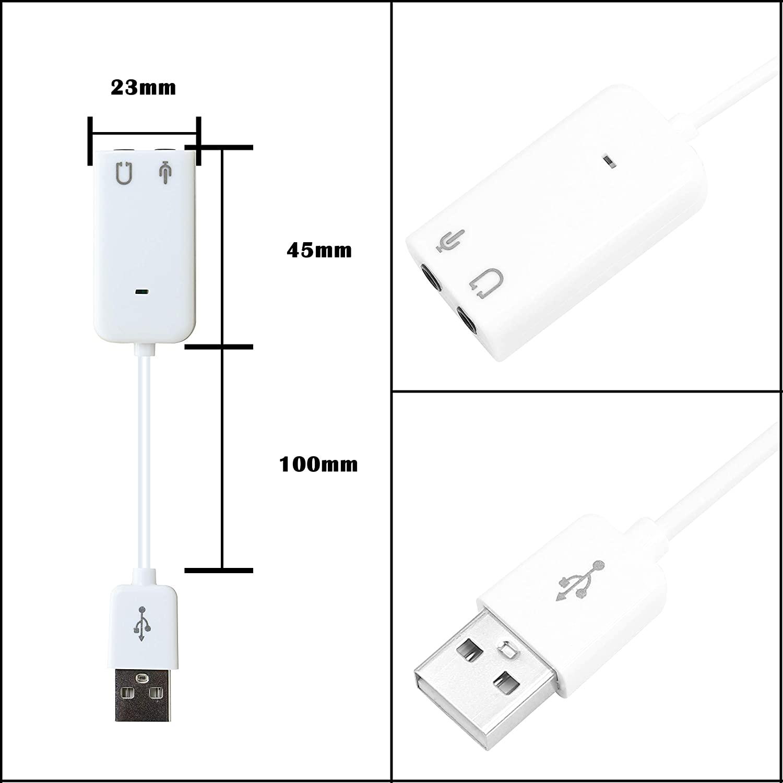 Concord Harici 7+1 USB Ses Kartı (C-849)
